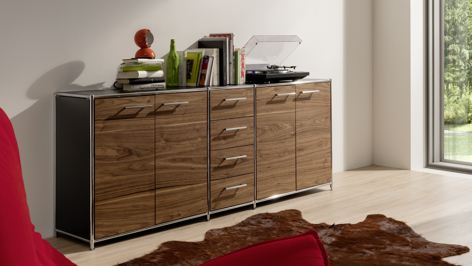 sideboard holz metall best modernes sideboard holz metall aus schiefer wrap with sideboard holz. Black Bedroom Furniture Sets. Home Design Ideas