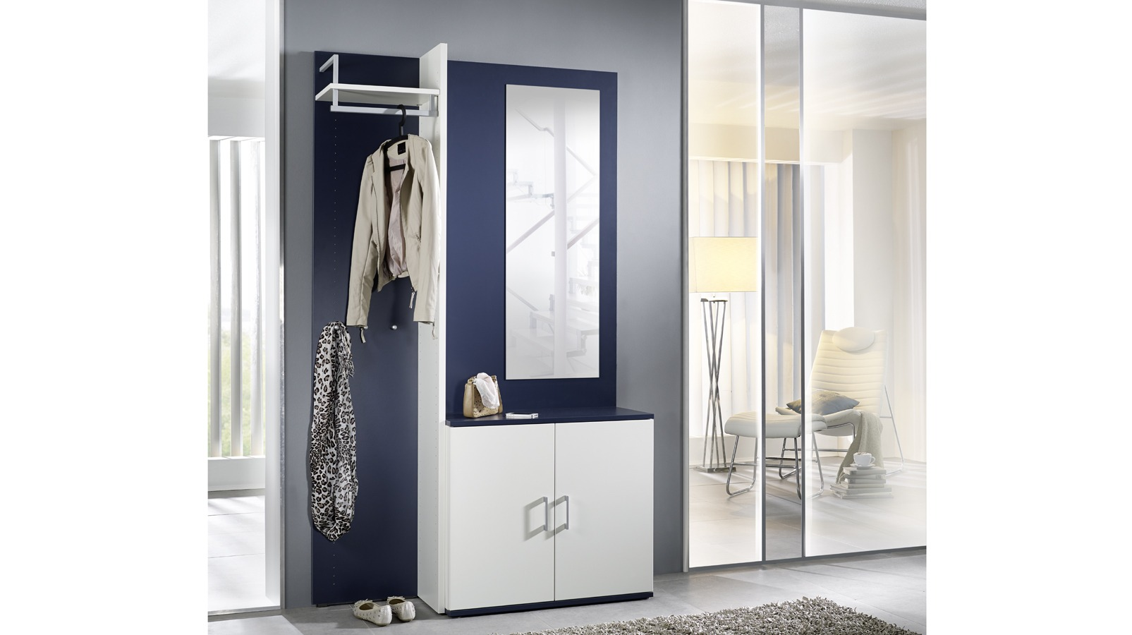 garderobe colorfun ulrich wohnen. Black Bedroom Furniture Sets. Home Design Ideas