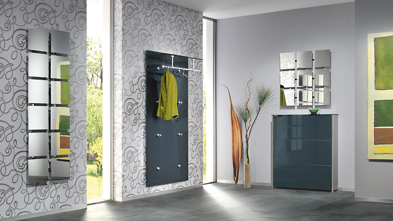 garderobe pacific ulrich wohnen. Black Bedroom Furniture Sets. Home Design Ideas