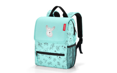 Reisenthel Kinderrucksack Backpack Kids Cats&dogs Mint