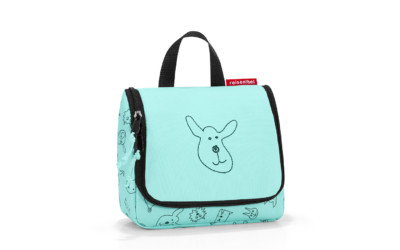 Reisenthel Toiletbag S Kids Cats&dogs Mint 1