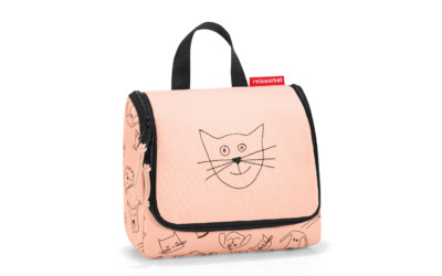 Reisenthel Toiletbag S Kids Cats&dogs Rose 1