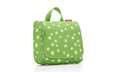 Reisenthel Toiletbag Xl Spots Green 1
