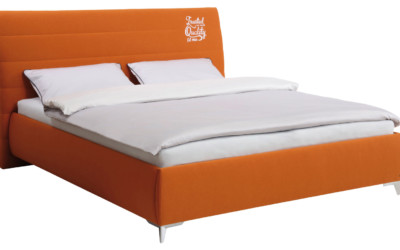 Tom Tailor Bett Stoff Orange Soft Lines 1