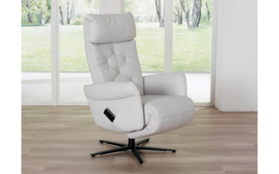 Himolla Relaxsessel Leder Weiss 7806 1