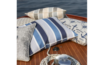 Jab Kissen Outdoorstoff Polyester Polyacryl Polypropylen Around The World Hamptons