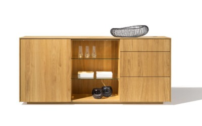 Team7 Sideboard Massivholz Eiche Filigno 2