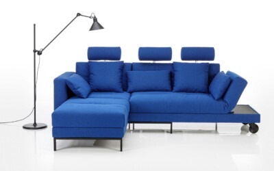 Möbel Ulrich Brühl Sofa Stoff Blau Four Two Soft 1